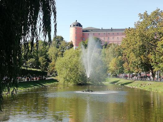 Das Schloss in Uppsala