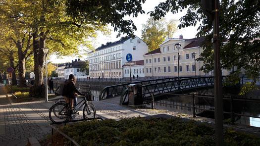 Die katholische Gemeinde St.Lars liegt zentral in Uppsala
