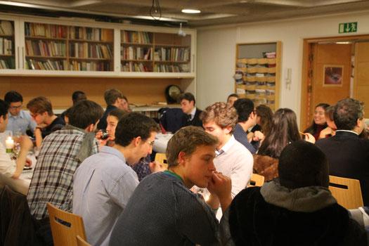 Treffen der Studentengemeinde in Stockholm