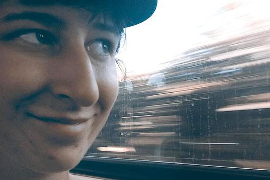 Los Angeles public transport story, humor, USA trip