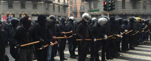 Manifestation contre l'Expo universelle à Milan (2015)