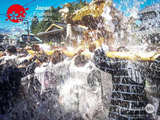 八重垣神社祇園祭, 水掛け渡御, 千葉県匝瑳市, あんりゃどした,