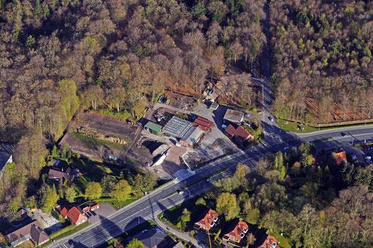 Aurich Sandhorst Esenser Strasse Gärtnereigelände. Hier soll der neue EDEKA-Markt entstehen.