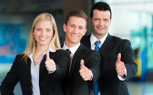 Mann Frau Business Karriere Karrierecoaching Vorstellungsgespräch Interviewtraining