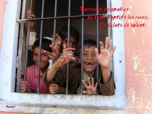 La Récré dans une école indienne