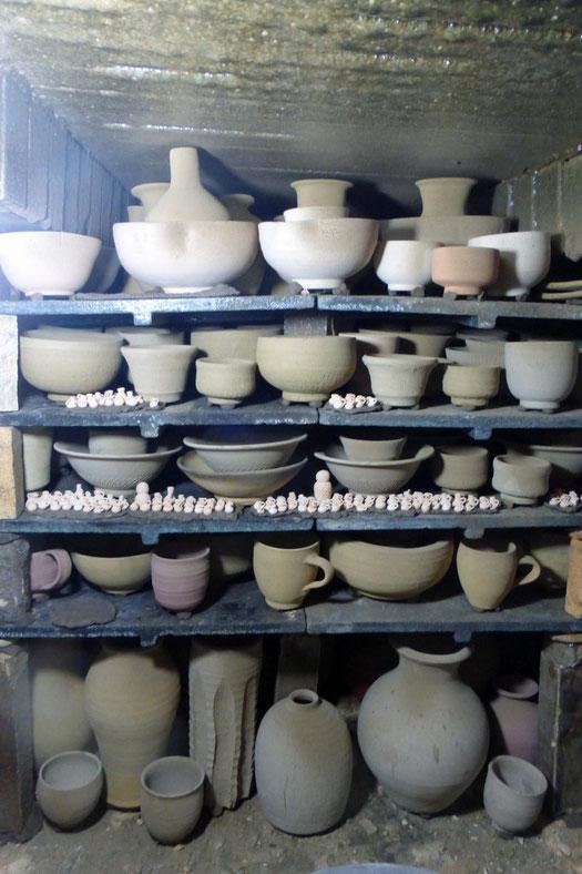 武州熊谷ひみこ窯 窯詰