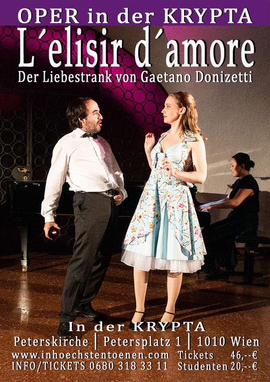 L´elisir d´amore - Der Liebestrank von Gaetano Donizetti