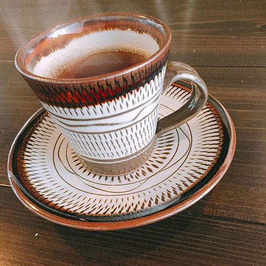 自家焙煎コーヒー -画廊カフェリトルギャラリー 住吉区長居の画廊カフェ-