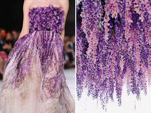 Quand la couture s'inspire de la divine nature