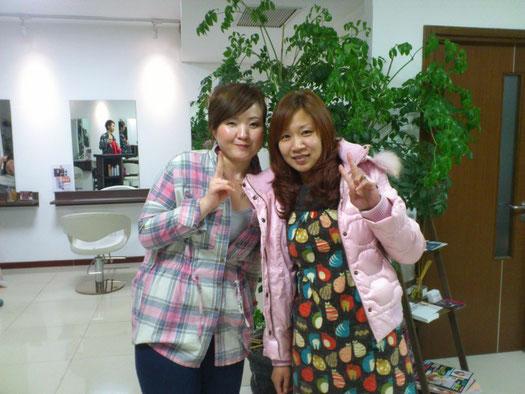 小田さんとツーショットで。