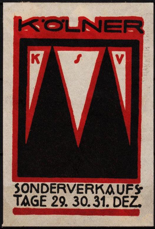 Werbung KSV, 20er Jahre