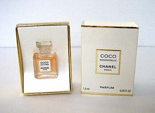 COCO MADEMOISELLE - PARFUM 1,5 ML : MINIATURE IDENTIQUE A LA PHOTO PRECEDENTE