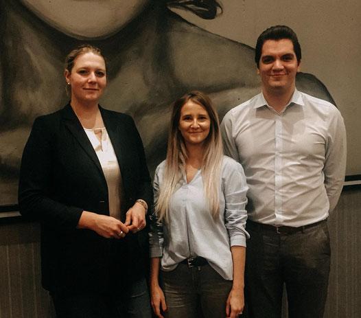 Catharina Lüdemann, Julia Matthiesen, Fabio Friederich