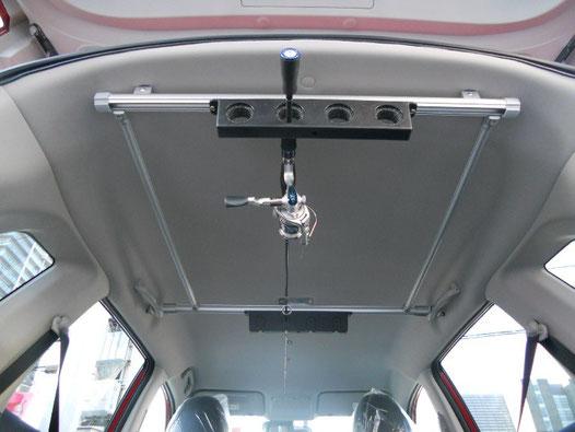 T32エクストレイル用のロッドホルダーです