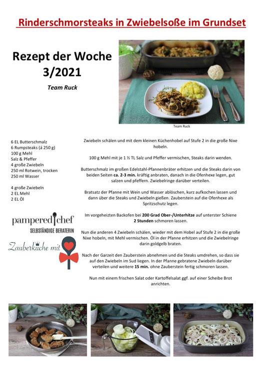 Ofenhexe Pampered Chef® , Pampered Chef Rezepte