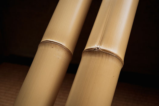 日本の美しい竹の代表とも言うべき真竹の白竹