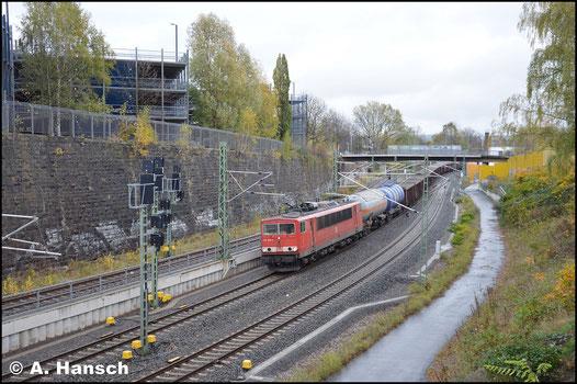 Der ansehnliche EZ 51720 hat am 31. Oktober 2017 fast Chemnitz Hbf. erreicht