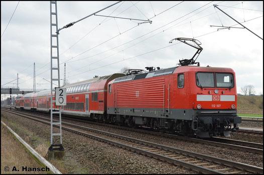 Ohne Selbstkontrollziffer begegnet mir die Maschine am 5. Februar 2016 in Berlin Französisch-Buchholz mit RB5 nach Elsterwerda