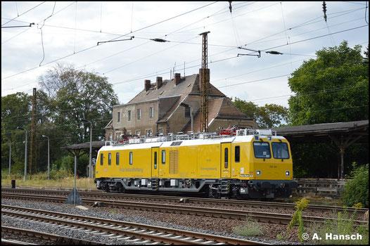 163 001-7 alias 702 201 begegnet mir am 2. September 2020 in Leipzig-Wiederitzsch