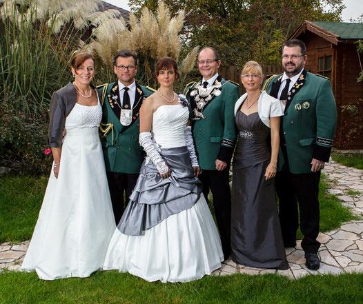 v.l.n.r.: Bettina & Guido Schiffer, Stefanie & Barney Cruickshank, Martina & Norbert Dappen