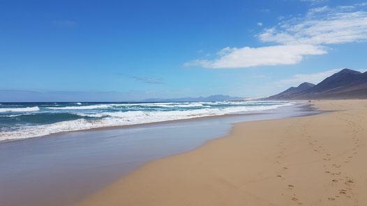Fuerteventura, traumhafter Strand in Cofete