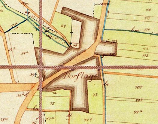 Gemeindekarte, 1865