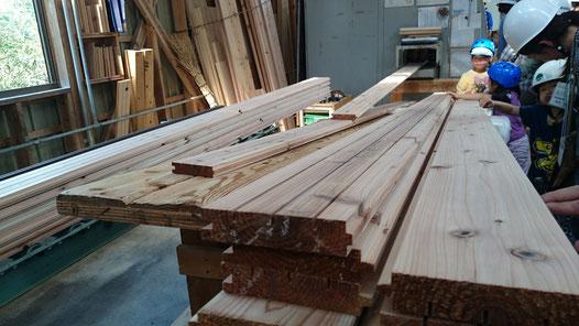 健康住宅には欠かせない杉の30ミリ床板