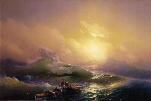Девятый вал (И. Айвазовский) - самые известные картины в мире