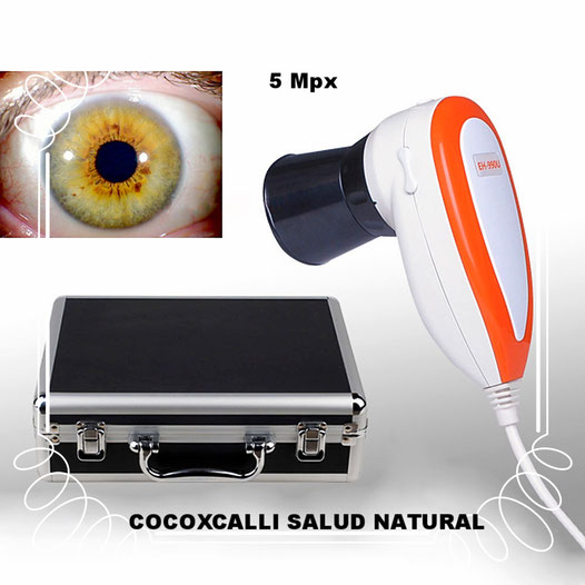 iridoscopio digital 5 mpx  promocion de $8,600 a  $7,600.00 pesos