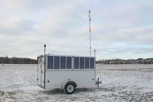 Dust/Noise/Weather Monitoring Trailer