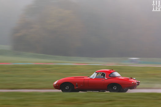 Jaguar Type-E - Journées d'Automne 2015, Circuit des Ecuyers.