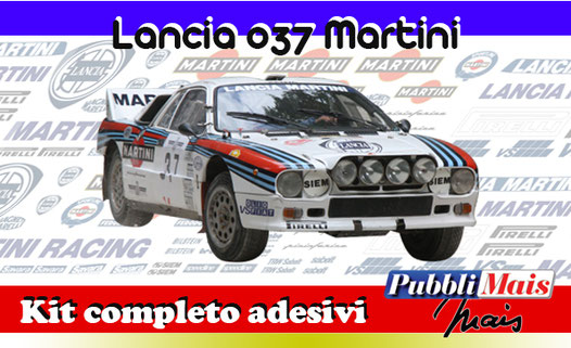 price cost kit stickers decals sponsor lancia 037 rally martini racing online shop pubblimais