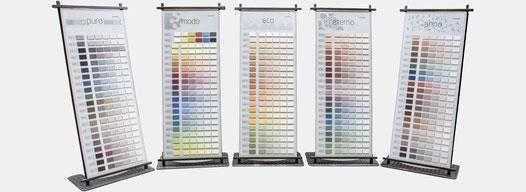 Lesando Lehmputz und Lehmfarbe, 5 Stilwelten, 630 Farbtöne und 70 Effekte, das ist Kreative Wandgestaltung