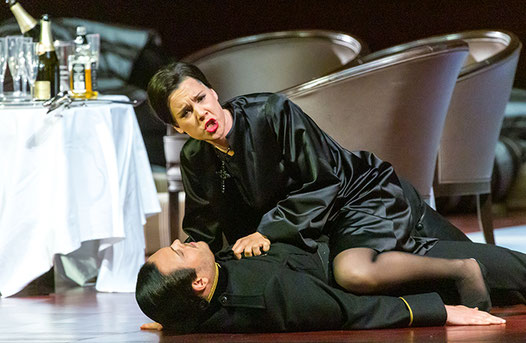 A scene from Don Giovanni at the Salzburg Festival 2014