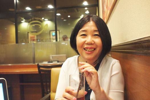 「生き方美心株式会社」代表で 「kikcafe」オーナーの飯島恵さん