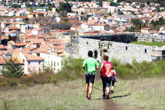 Trail Quillan 11km - Château et Ville de Quillan