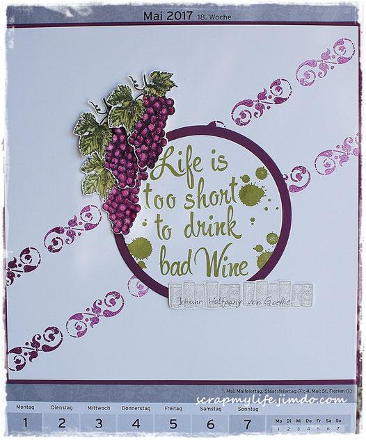 stampin up -Tuscan Vineyard
