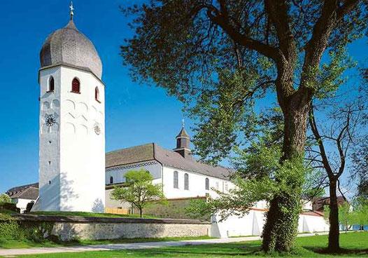Chorkapelle mit kleinem Glockenturm