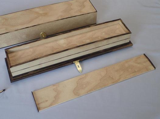 楓鋲装長方箱 - 木工藝 須田賢司 Japanese Fine Woodwork SUDA Kenji