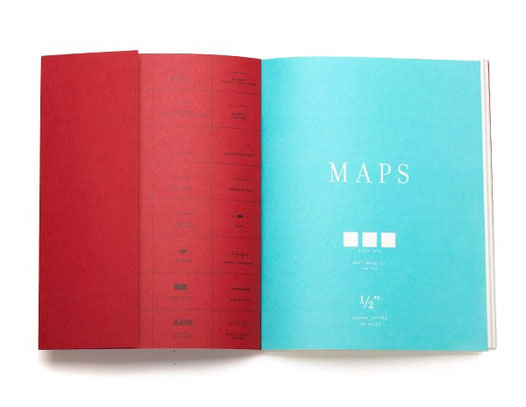 Best Made Company The Map Notebook