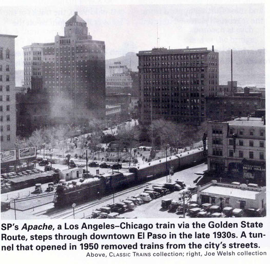 1930s - El Paso. Im age from Classic Trains Collection magazine. Courtesy of Larry Karresch.