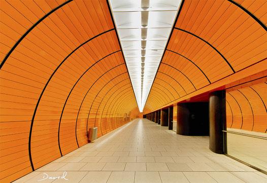 U-Bahnhof Marienplatz München HDR