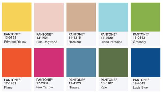 Les couleurs tendance en 2017 par EyeOnline agency webmarketing externalisé