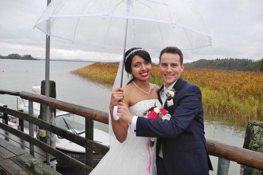 Prien am Chiemsee freie Trauung mit freier Redner Trauredner Thomas Hoffmann Chiemsee freie Trauzeremonie Wedding Ceremony at Chiemsee BAvaria English Ceremony