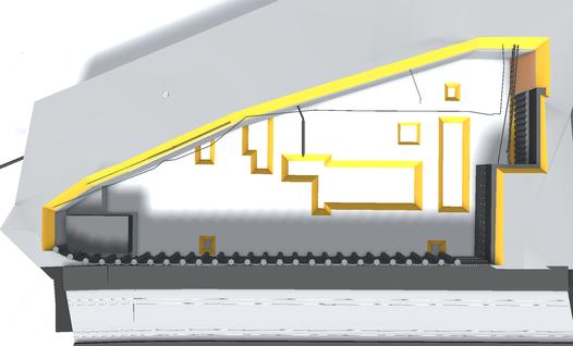 3D-Modell Baugrubensicherung