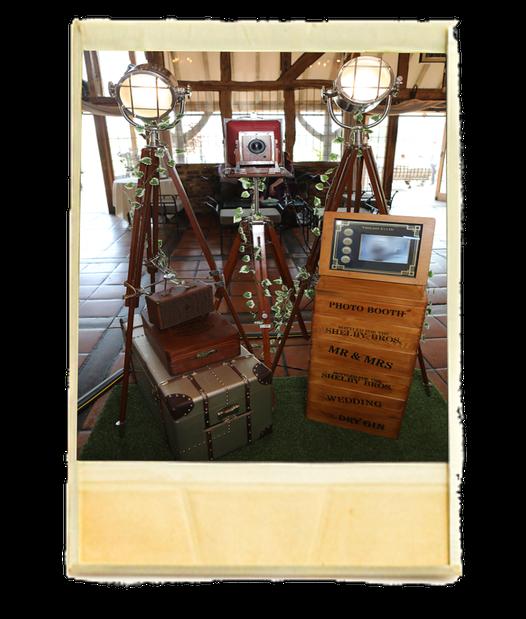 1920s Peaky Blinders Vintage Photo Booth Hire