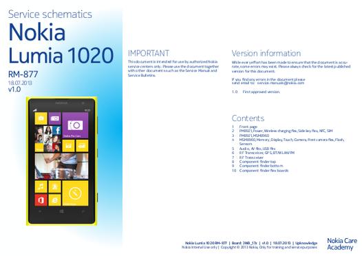 Nokia Schematic & Diagrams - Free Manuals on