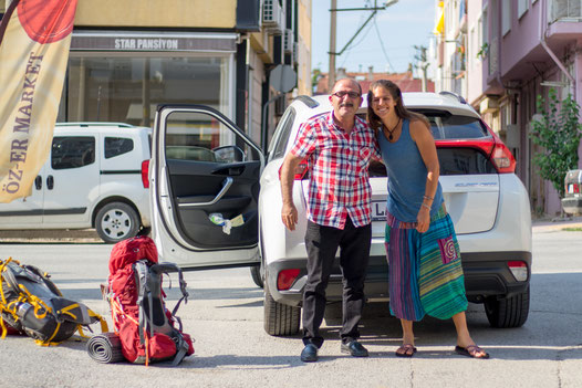 Hitchhike from Turkish border to Edirne