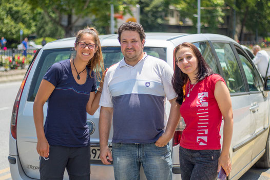 Hitchhike from Sophia to Plovdiv