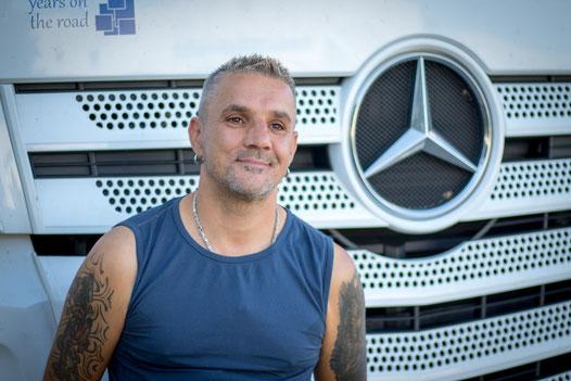 Truck driver Goran